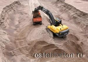 Классная цена на карьерный песок с доставкой в Нижнем Новгороде