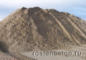 Купите карьерный песок по низкой стоимости за тонну от РосТехБетон
