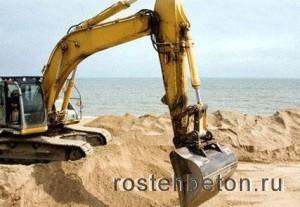 Купите речной песок с доставкой в Нижнем Новгороде