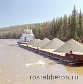 Доступная цена за тонну речного мытого песка в Нижнем Новгороде